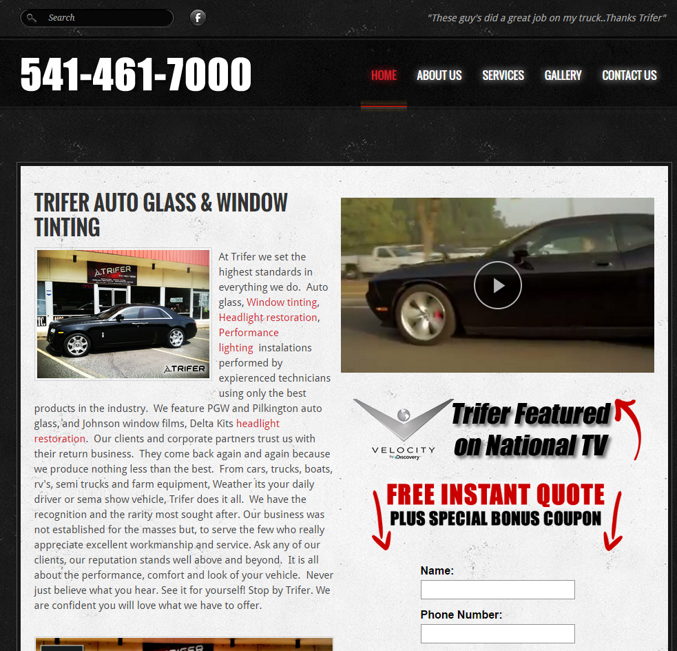 Eugene Window Tinting