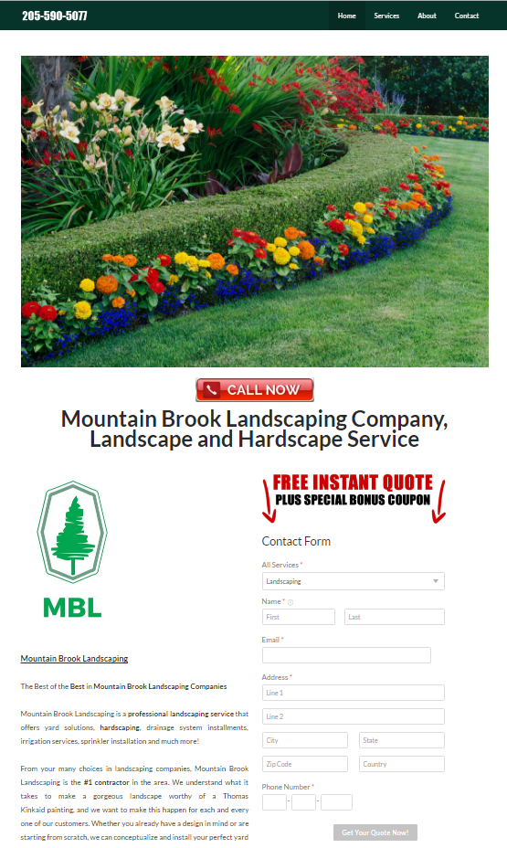 mountain brook landscaping