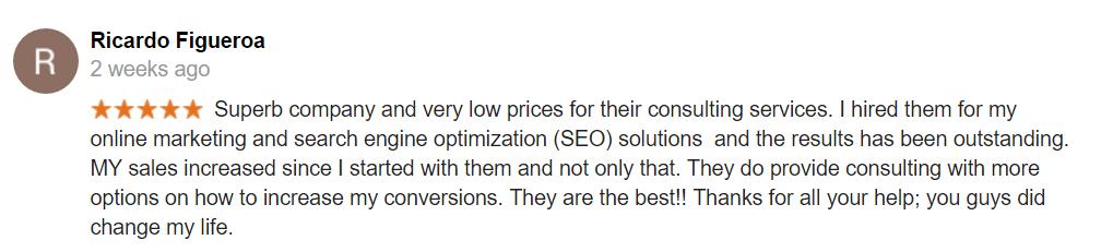 Local listings Google